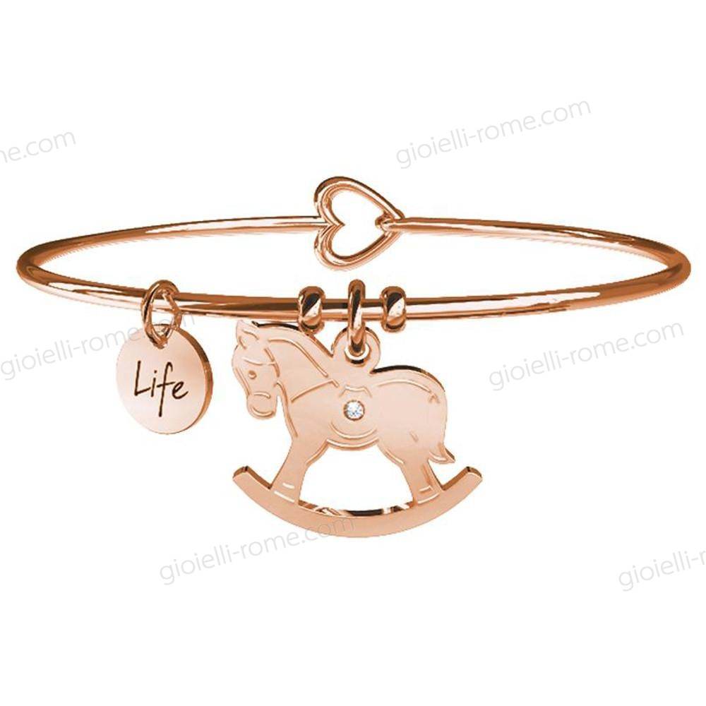 Kidult Bracciale Cavallo a Dondolo Rose Special Moments Life Collection Problema Con Uno Sconto 53%  - Kidult Bracciale Cavallo a Dondolo Rose Special Moments Life Collection Problema Con Uno Sconto 53%-01-0