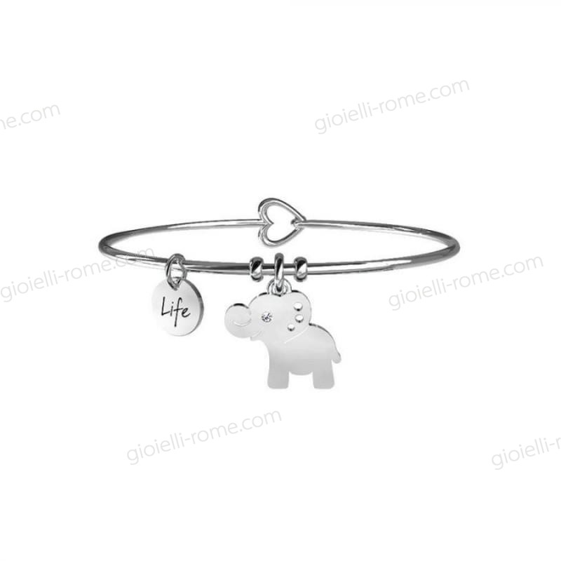 Kidult Bracciale Elefante Animal Planet Life Collection Elenco Sconti  - Kidult Bracciale Elefante Animal Planet Life Collection Elenco Sconti-01-0