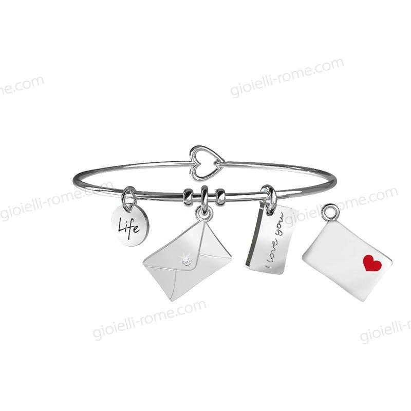 Kidult Bracciale Lettera Love Life Collection Prezzo a Sconto 54%  - Kidult Bracciale Lettera Love Life Collection Prezzo a Sconto 54%-01-0